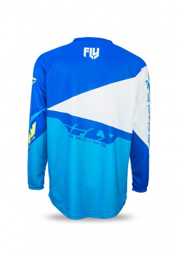 Bluza off-road Fly Racing F-16 2017 niebieska
