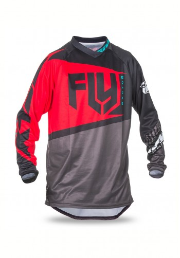 Bluza off-road Fly Racing F-16 2017 czerwona