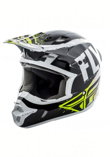 Kask off-road Fly Racing Kinetic Burnish czarny