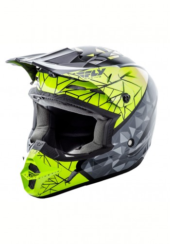 Kask off-road Fly Racing Kinetic Crux czarny