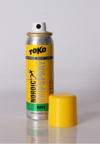 Smar w sprayu TOKO Nordic Grip Spray Base zielony