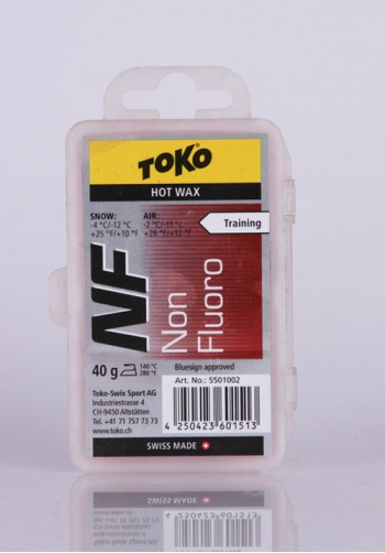 Smar hydrocarbonowy TOKO NF Hot Wax Red 40g