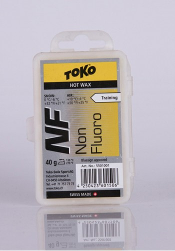 Smar hydrocarbonowy TOKO NF Hot Wax Yellow 40g